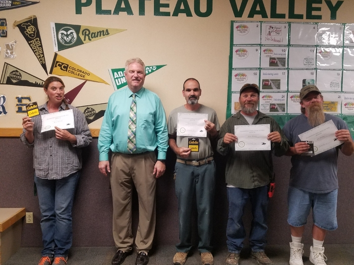classified employees of the month